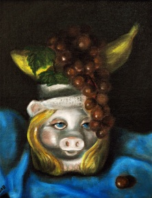 Miss Piggy as Carmen Miranda, Private collection