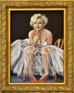marilyn monroe framed copy