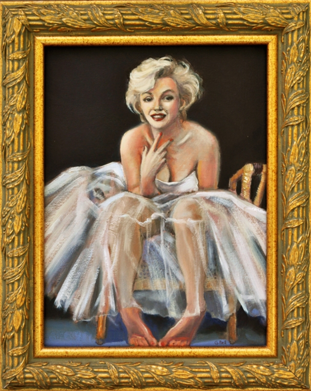 original oil painting, Marilyn Monroe