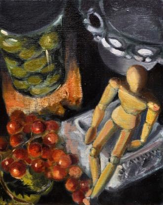"""10"""" x 8"""" oil paintings"""