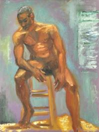 Nude, open studio (Tad)