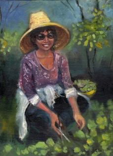 Josie, the gardener