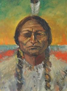 Study of Chief Sitting Bull